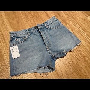 GRLFRND Helena Denim Shorts - NEW